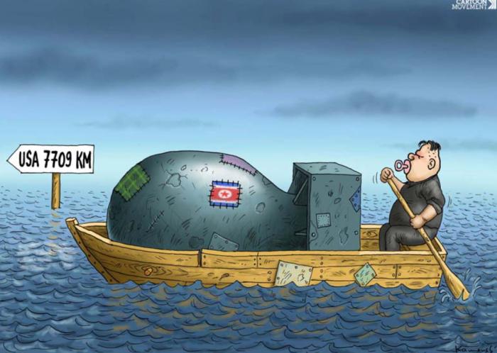 Kim-boat-nuke-US