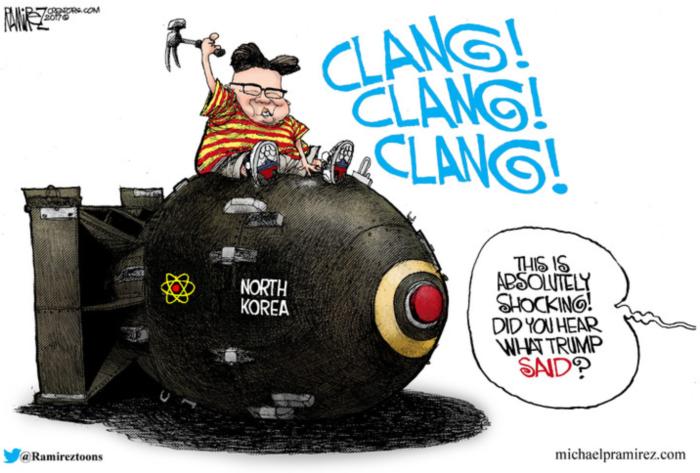 Kim-what-Trump-said