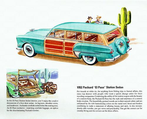Packard El Paso ad