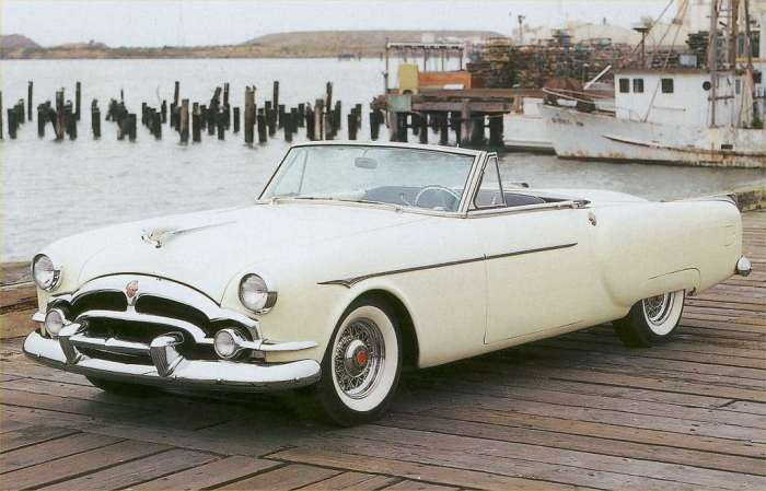 Packard Pacifica-top down