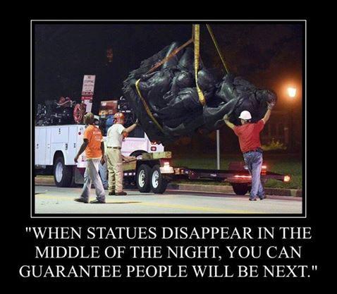 Statues-night