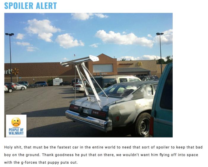 Walmart Car Show-Spoiler