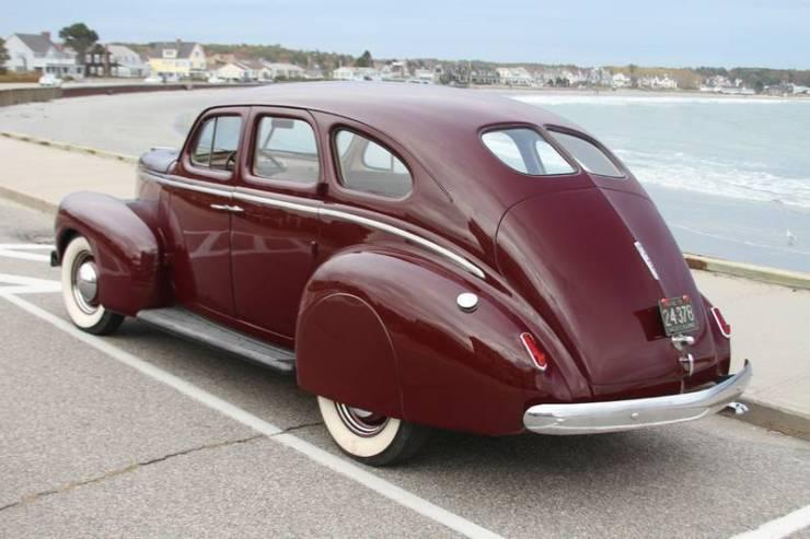 1939 Nash LaFayette - rear