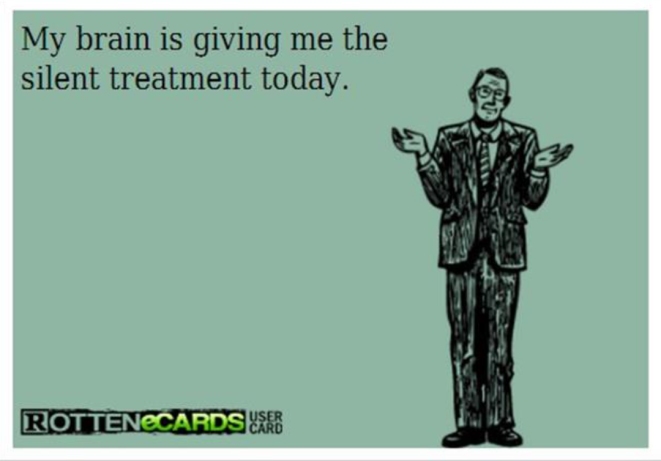 Brain-silent treatment