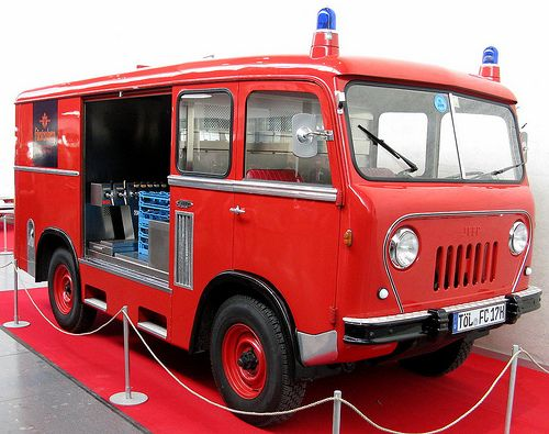 Jeep FC ambulance