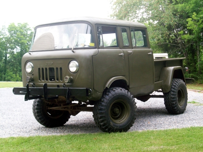 Jeep FC-military