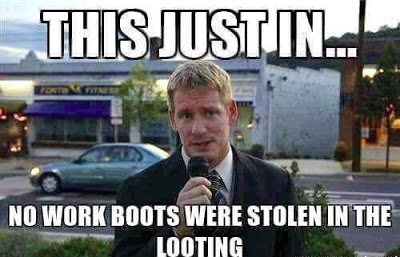 Looting-work-boots
