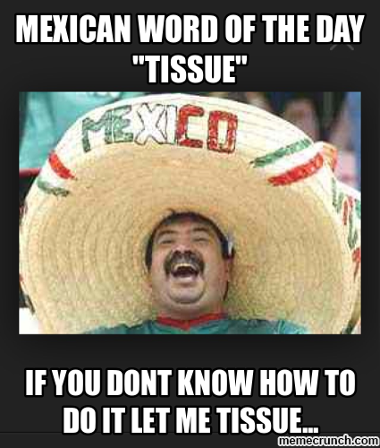 Mexican Word of the Day - Tissue