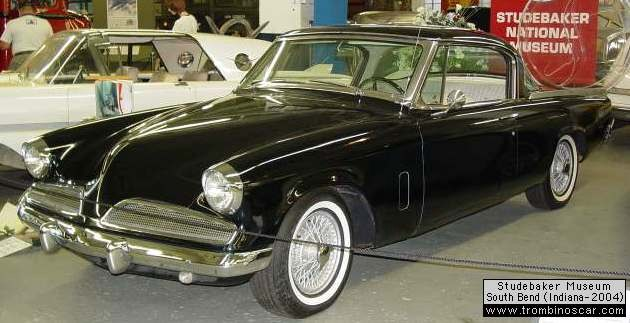 55 Stude coupe prototype