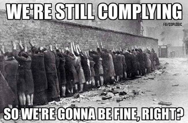 Complying