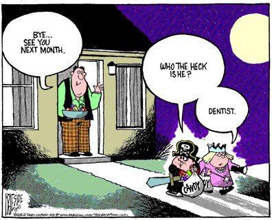 Halloween-dentist