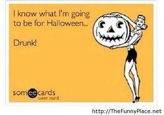 Halloween-drunk