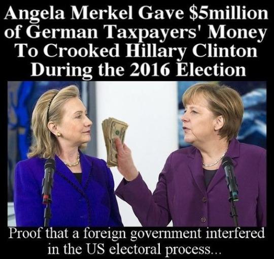 Hitlery-Merkel