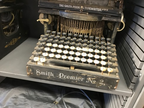 Old Smith Typewriter