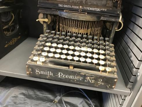 Old Smith Typewriter