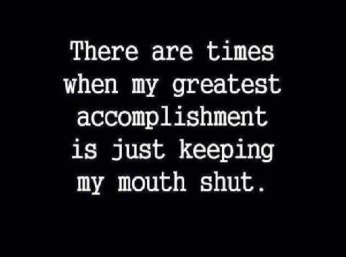Snark - Accomplishment-mouth-shuts