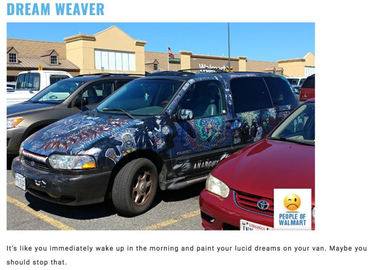 Walmart Car Show-Dreamweaver