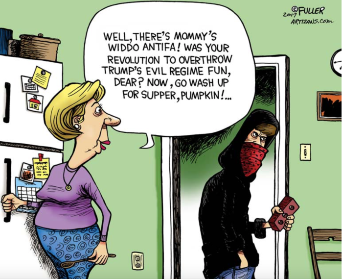 Antifa-mom