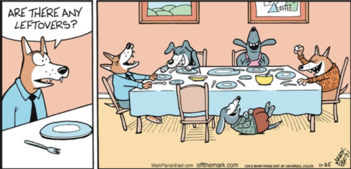Dawgznkatz-Thanksgiving Leftovers