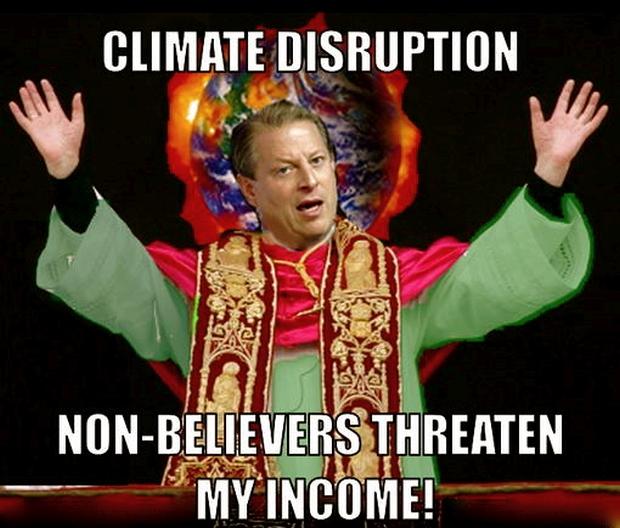 Gore-climate-non-believers