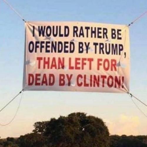 Hitlery-left for dead