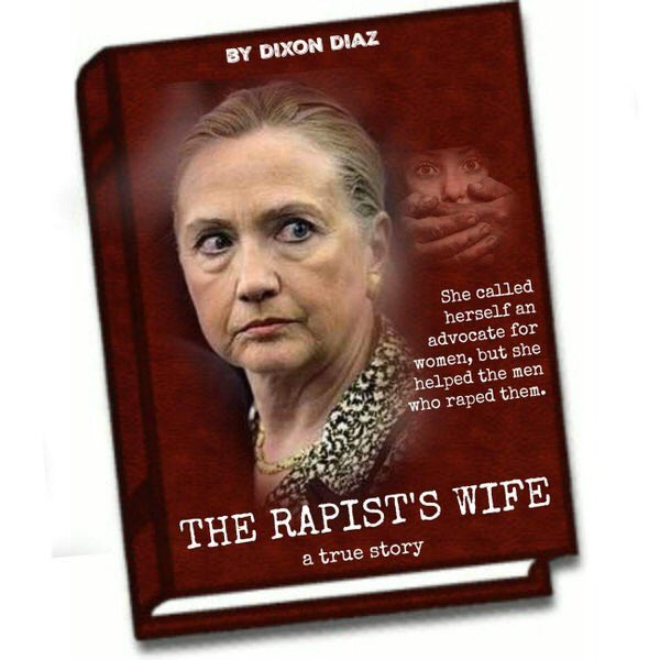 Hitlery-rapist's wife
