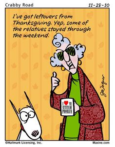 Thanksgiving leftovers-Maxine