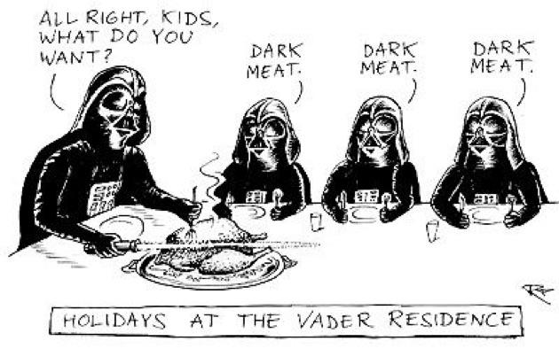 Thanksgiving-Vader