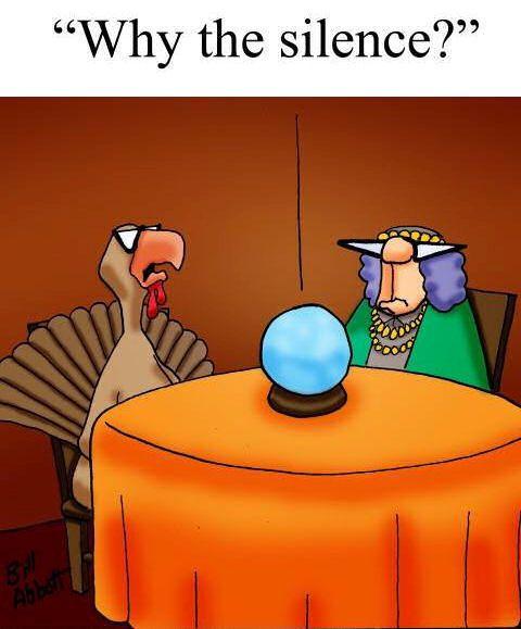 Turkey-silence