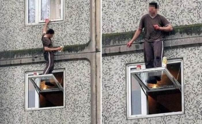 Why Women Live Longer-standing on windows