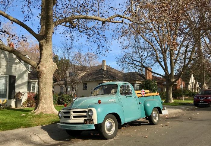 55 Studebaker pick up lf