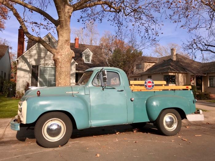 55 Studebaker pick up - side