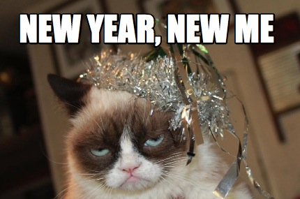 Angry cat-New Year