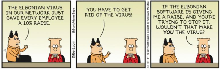 Dilbert-virus
