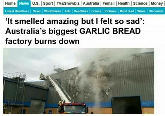 Garlic bread factory