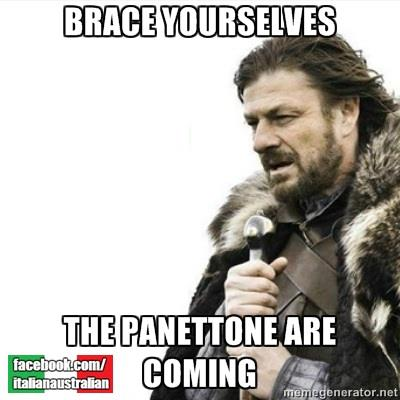 Italian Panettone Christmas