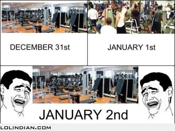 New Year-GYM