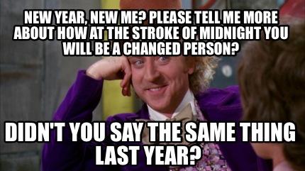 New Year-Last Year