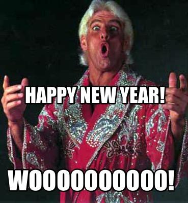 New Year - WOOOO