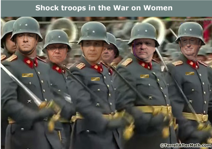 Shock troops in War on Women