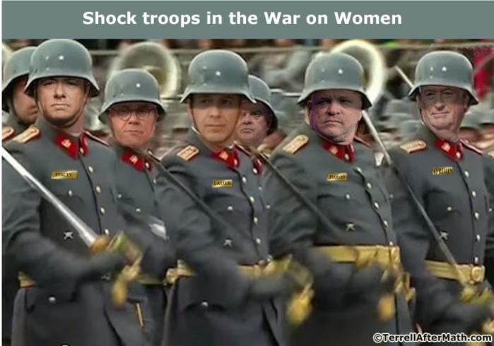 Shock troops in War on Women
