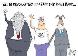 tax cuts-one picture, a bazillion words