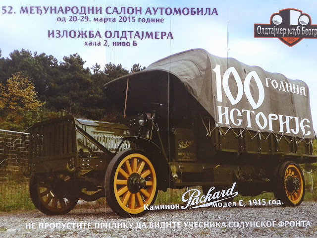 1915 Packard Truck in Serbia