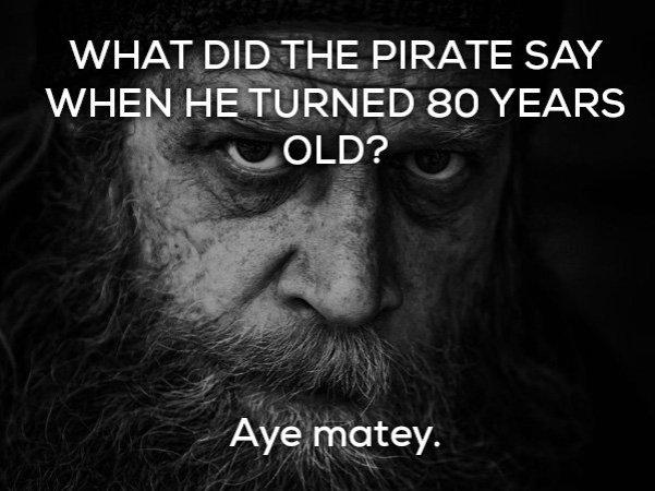 Aye Matey