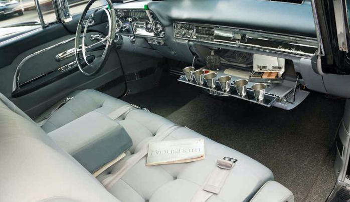 Cadillac Eldorado Brougham cup holder