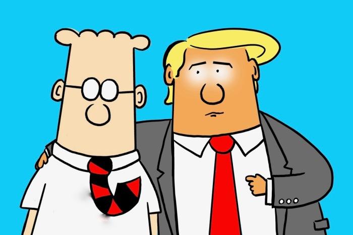 Dilbert-Trump