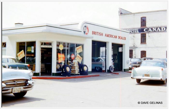 Gas station-Canada