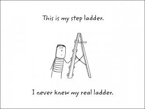 Groaner-step-ladder