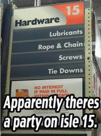 Party In Aisle 15