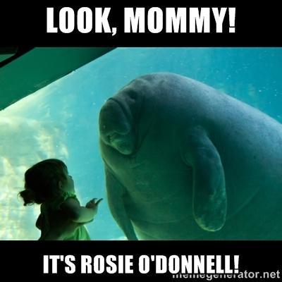Rosie O'Donnell-aquarium